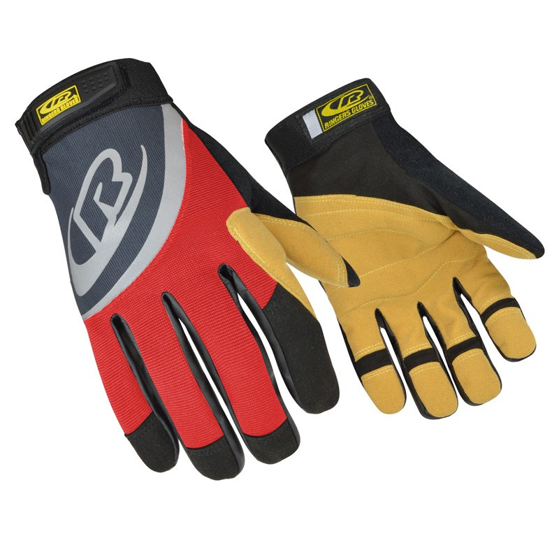 355A RED RINGERS ROPE GLOVE