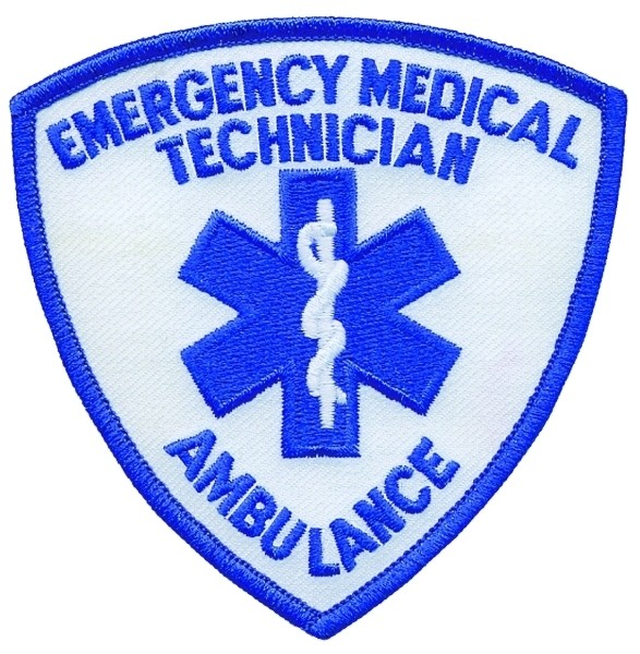 EMERGENCY MEDICAL TECHNICIAN AMBULANCE Shoulder Patch