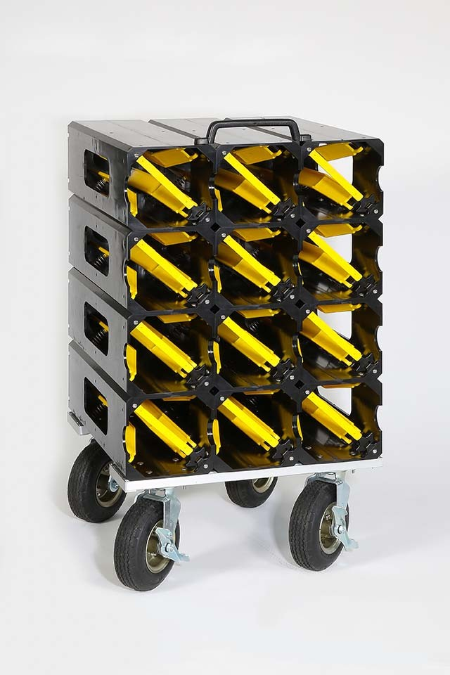 CM6060 Cylinder Mate Cart (12-60 minute SCBA cylinders)