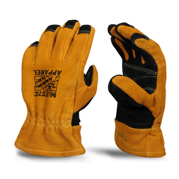 MFA82 Majestic Leather Gauntlet Structural Fire Glove