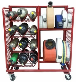 MPSS Multi Purpose Storage System Ready Rack Spare Bottles & Hose
