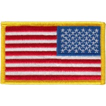 US Flag Patch Reverse