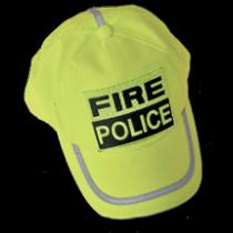 Hi Viz Fire Police Baseball Cap
