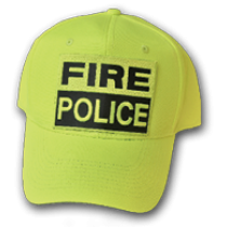 Hi Viz Basic Fire Police Base Ball Cap