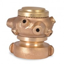 "535 Akron Brass Cellar Nozzle 2-1/2"""