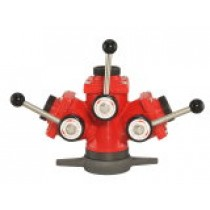 Pritek 550 3 Way Hydrant Wye