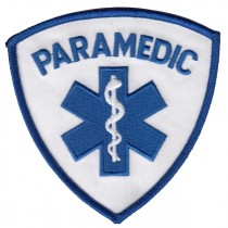 4826 PARAMEDIC Shoulder Patch Shoulder Patch