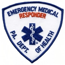 5340 Emergency Medical Technician PA DEPT OF HEALTH EMT Shoulder Patch