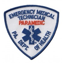 5311 PA DEPT OF HEALTH EMT PARAMEDIC Shoulder Patch