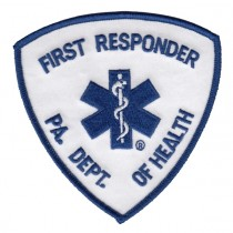 PA Depaartment of Health First Responder Shoulder Patch