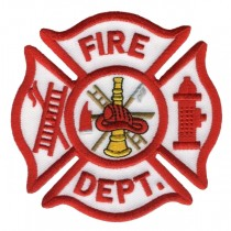 5385 FIRE DEPT. Shoulder Patch
