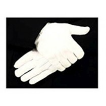 8778W Parade Gloves, White Grip Dots with Raised Pointing, Slip-On