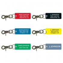 Fire Department Firefighter Accountability Tags