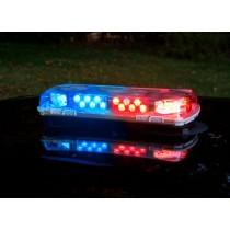 """16"""" Whelen Century™ Series LED Mini Lightbars with Aluminum Base BLUE RED"""