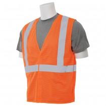 ERB S362 Class 2 Economy Mesh Vest Orange
