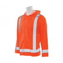 S373 ERB Safety Class 3 Rain Jacket Orange
