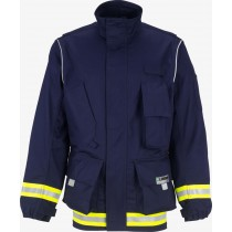 Lakeland 911 Series Extrication Coat Navy Blue Front View