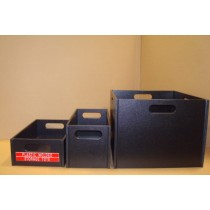 Sensible Produces Black Poly Storage Boxes