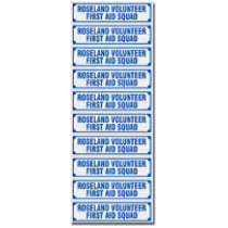 EM-2 Reflective Equipment Stickers