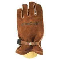 FIre Craft Wildland Fire Glove with Metal Clasp and Leather Snugger