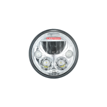 "HiViz LED 5.75"" Round Head Light"