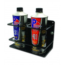 QM-PMH-D Double Premix/Bar Container Holder Black