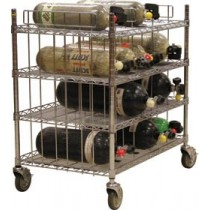 Ready Rack Mobile Bottle Cart