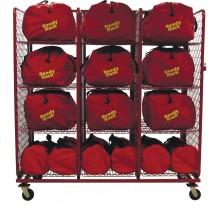 SOS2432-B Ready Rack S.O.S.Gear Bag Storage 3 Section