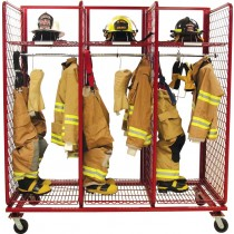 SOS2432-PPE Ready Rack S.O.S. PPE Storage 3 Section