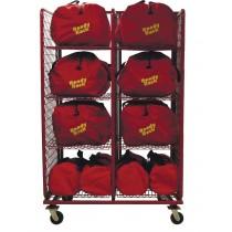 SOS2432DBL-B Ready Rack S.O.S. Gear Bag Storage 2 Section