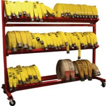 3 TIER MOBILE HOSE RACK
