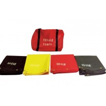 Triage Tarps Set of (4) With Bag