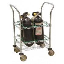 UBR-4 EMS Oxygen Cart – SCBA or M Clyinders