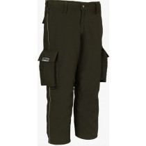 Lakeland OSX Wildland Spruce Green FR Indura Fire Pants Side View