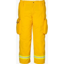 Lakeland OSX Wildland Yellow Nomex Fire Pants Front
