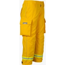Lakeland OSX Wildland Yellow Nomex Fire Pants Side Angled