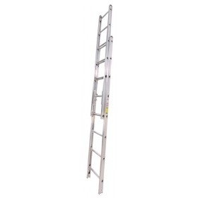 2 Sectiion Extension Ladders  Solid Beam Aluminum