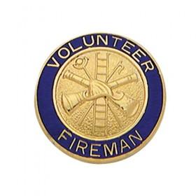 Smith & Warren C200 Volunteer Fireman Collar Insignia
