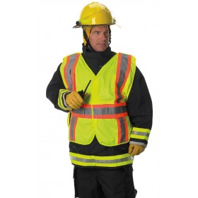 VAFOSP2GBVL Lakeland Public Safety Vest 5 Point Break Away All Velcro