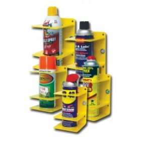 QM-PMH-2 Quick Mount Spray Can Holder Yellow