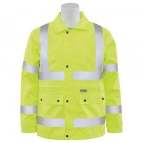 ERB S371 Class 3 Rain Coat Lime