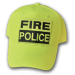 Hi Viz Basic Fire Police Base Ball Cap